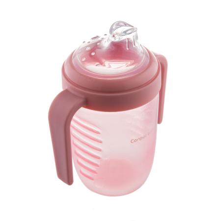 Canita anti-varsare, Canpol babies®, fara BPA, 220 ml, roz [2]