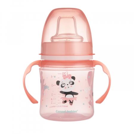 "Canita antrenament ""Exotic Animals"", Canpol babies®, 120 ml, roz [1]"