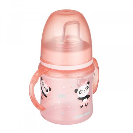 "Canita antrenament ""Exotic Animals"", Canpol babies®, 120 ml, roz [0]"