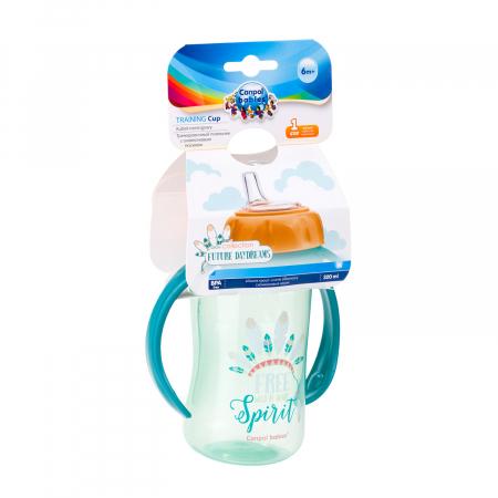 "Canita antrenament ""Future Daydreams"", Canpol babies®, 320 ml, bleu [9]"