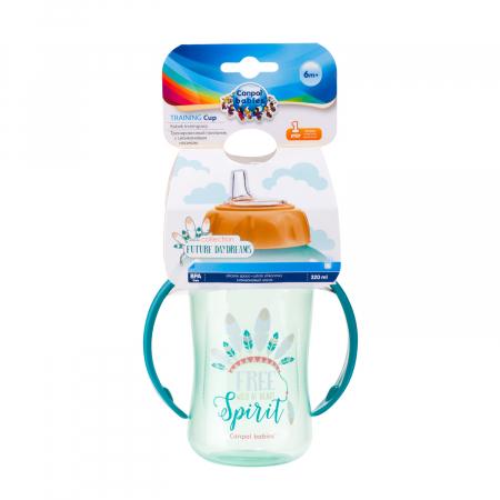"Canita antrenament ""Future Daydreams"", Canpol babies®, 320 ml, bleu [10]"