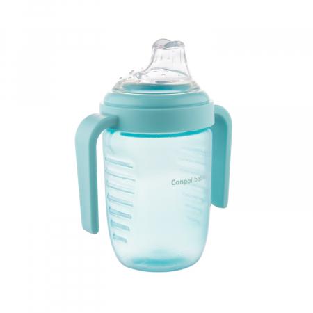 Canita anti-varsare, Canpol babies®, fara BPA, 220 ml, albastru [1]