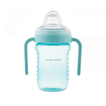 Canita anti-varsare, Canpol babies®, fara BPA, 220 ml, albastru [4]