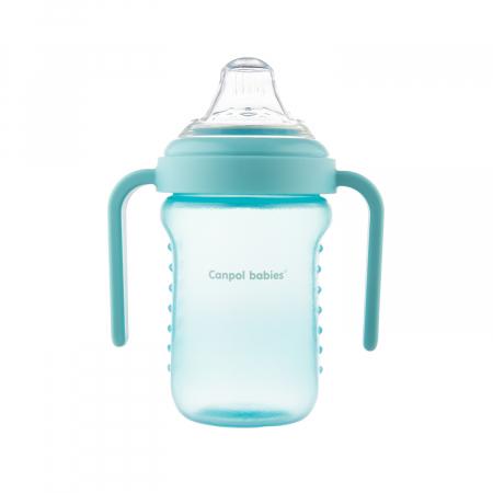 Canita anti-varsare, Canpol babies®, fara BPA, 220 ml, albastru [5]
