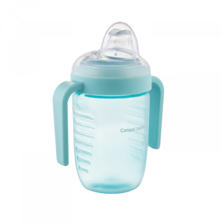 Canita anti-varsare, Canpol babies®, fara BPA, 220 ml, albastru [0]