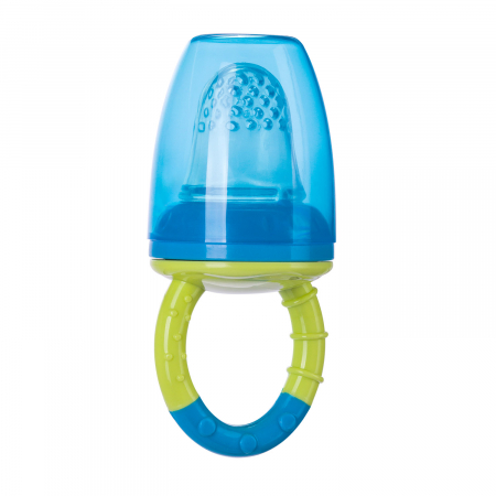 Dispozitiv de hranire pentru introducerea primelor fructe si legume, Canpol babies®, fara BPA, albastru/galben1