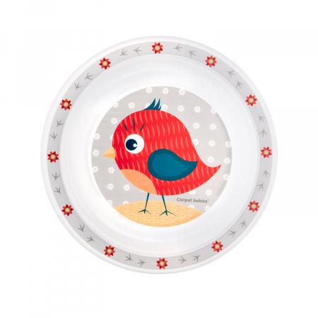 """Farfurie """"Cute Animals"""", Canpol babies®, fara BPA [1]"""