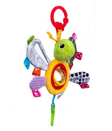 Fluturasul Lulu, Bali Bazoo, jucarie din plus cu sunatoare si fosnaitoare, multicolor4