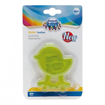 "Inel gingival ""Puisor"", Canpol babies®, fara BPA, verde [1]"