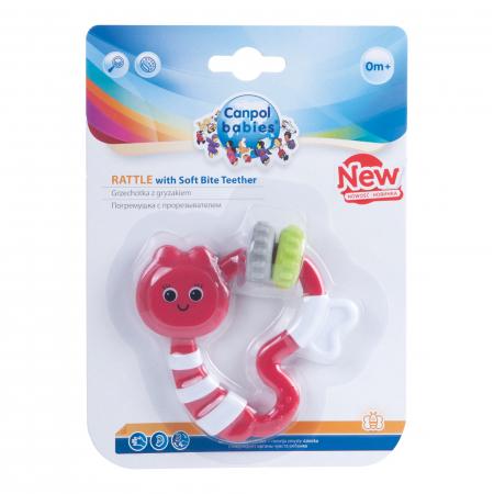Jucarie dentitie cu sunatoare, Canpol babies®, fara BPA, multicolor1
