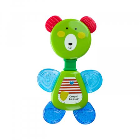 """Sunatoare cu jucarie pentru dentitie """"Bear"""", fara BPA, 0 luni + [0]"""