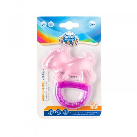 """Jucarie pentru dentitie cu sunatoare """"Horse"""", fara BPA, 0 luni + [1]"""