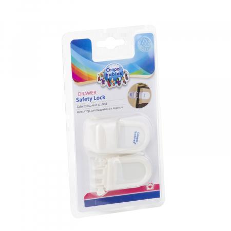 Încuietoare de siguranță pentru sertare, alb [4]