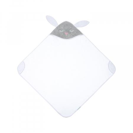 Prosop cu gluga 100% bumbac, 100 × 100 cm Bunny2
