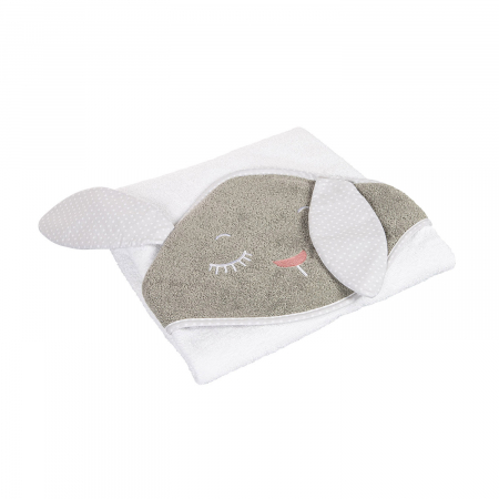 Prosop cu gluga 100% bumbac, 100 × 100 cm Bunny0