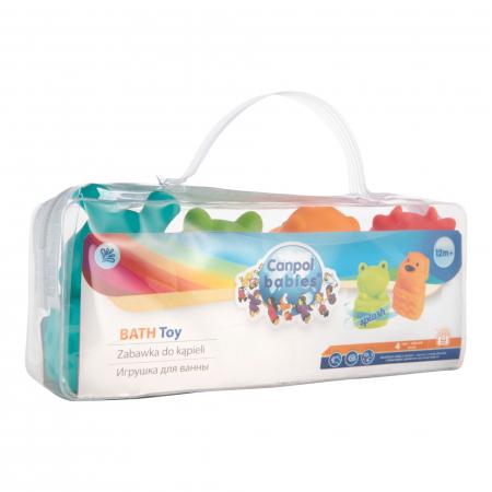 Set 4 jucarii pentru baie, fara BPA, multicolor2