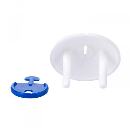 Set 4 protectii de siguranță pentru prize, alb [1]