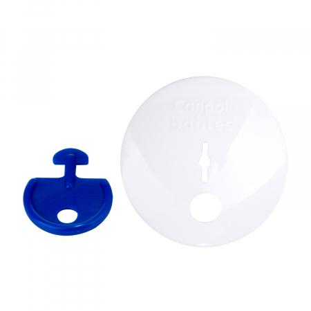 Set 4 protectii de siguranță pentru prize, alb [2]