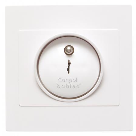 Set 4 protectii de siguranță pentru prize, alb [3]