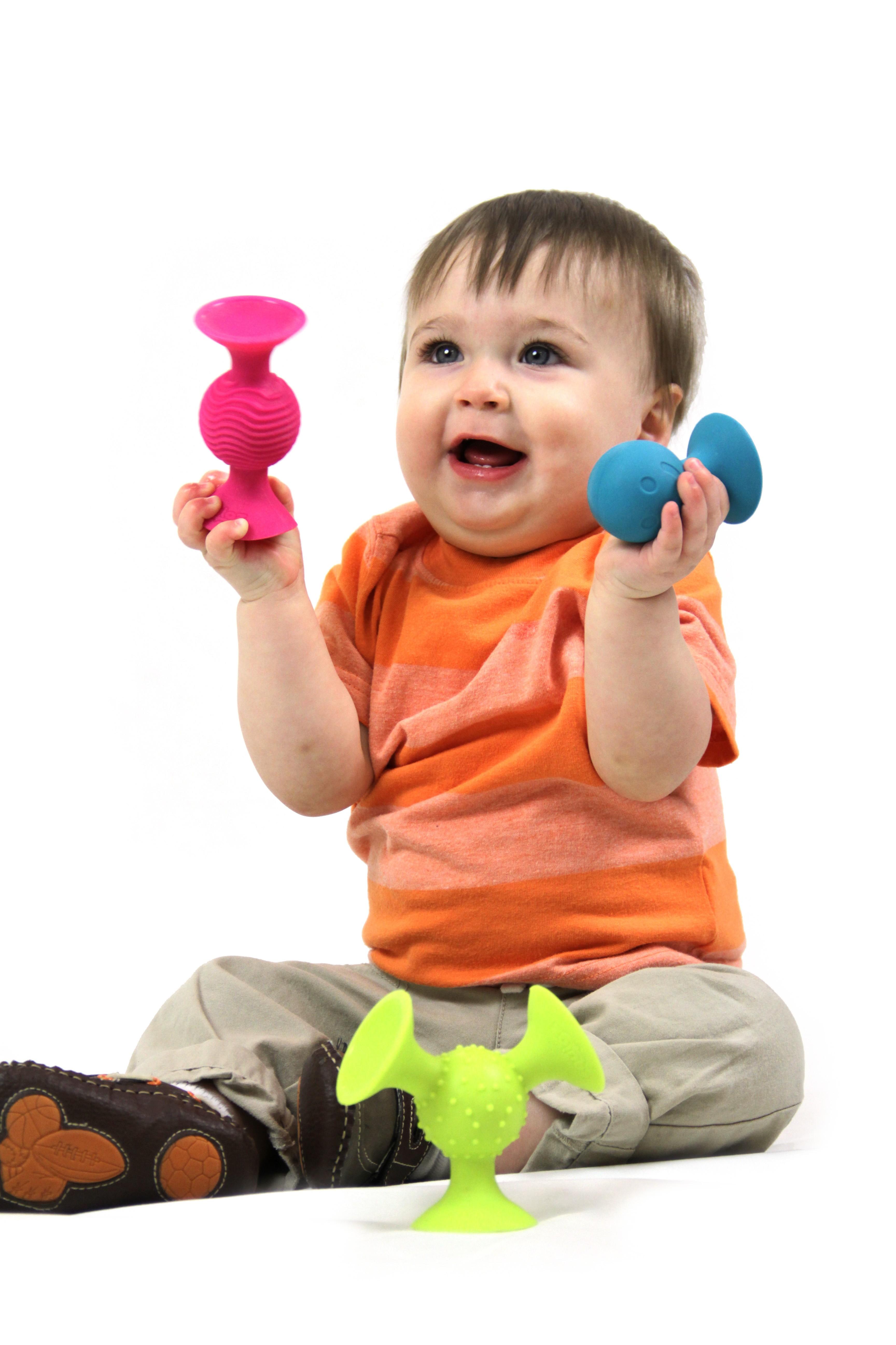 Jucarie bebelusi pipQsuigz - Fat Brain Toys 2
