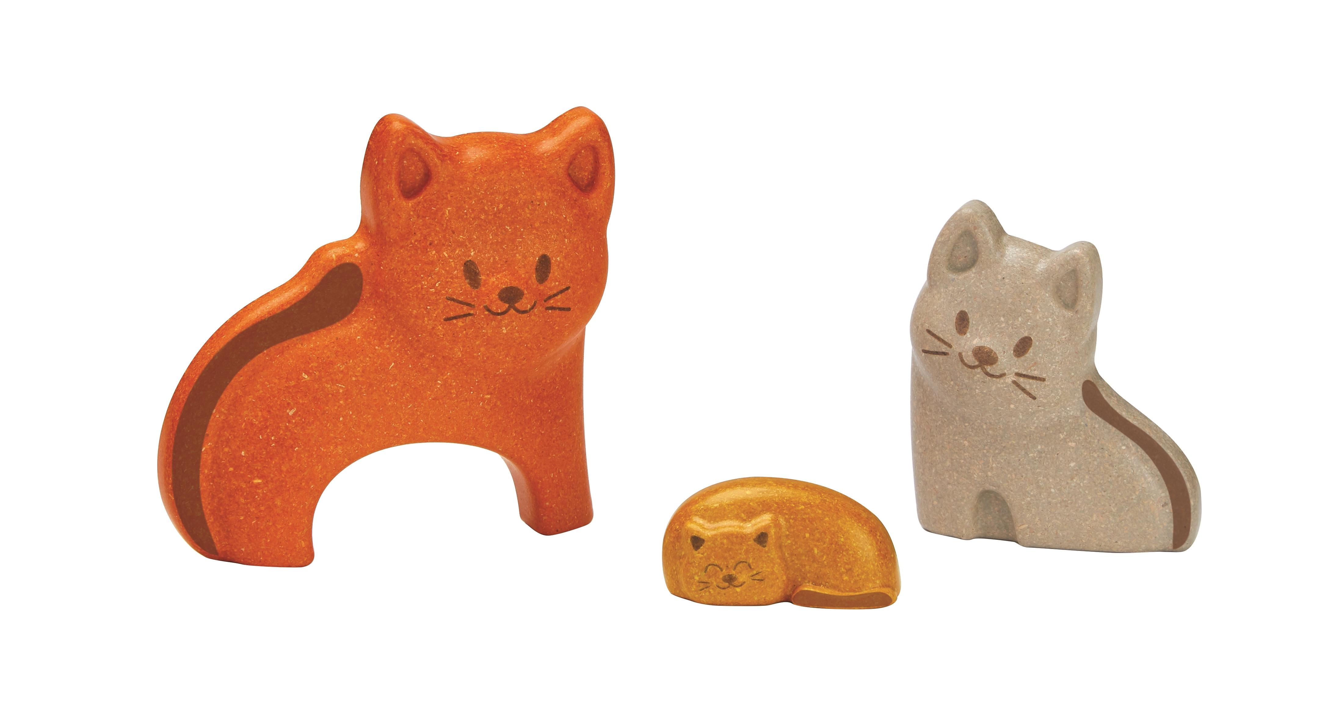 Puzzle din lemn cu pisicute 1
