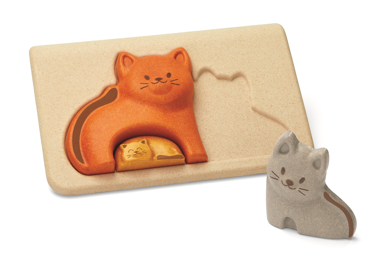 Puzzle din lemn cu pisicute 0