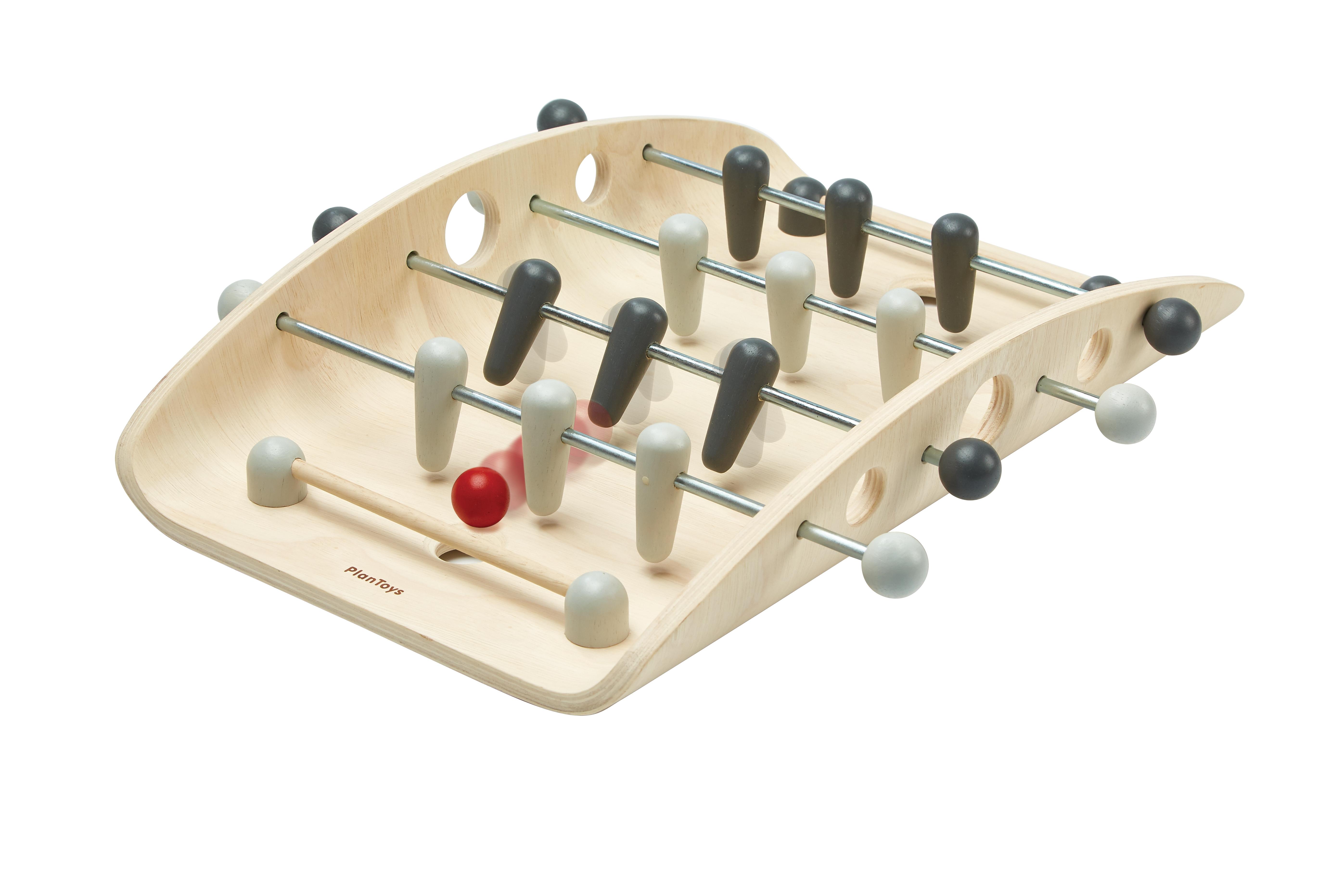 Joc Foosball - Joc de fotbal din lemn copii 0