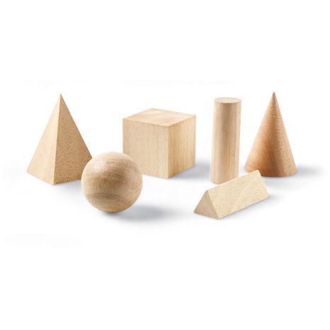 Set 12 figuri geometrice de lemn [0]