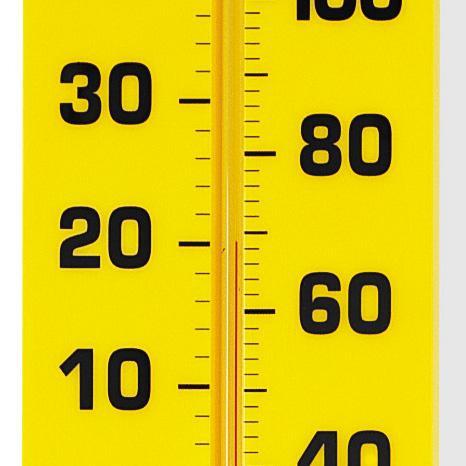 Termometru sala de clasa - 38 cm 0