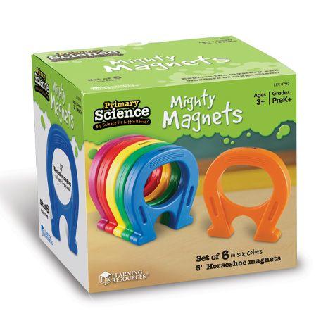 Set 6 super magneti potcoava ca in desene animate 2