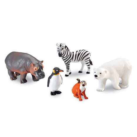 Animale de la Zoo - Set figurine mari 0