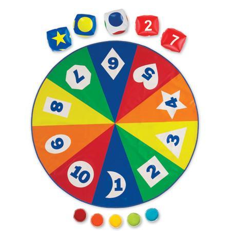 Saltea activitati - Circle time - Cifre forme si culori 1