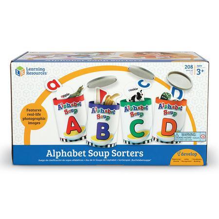 Supa de alfabet - Set educativ 3