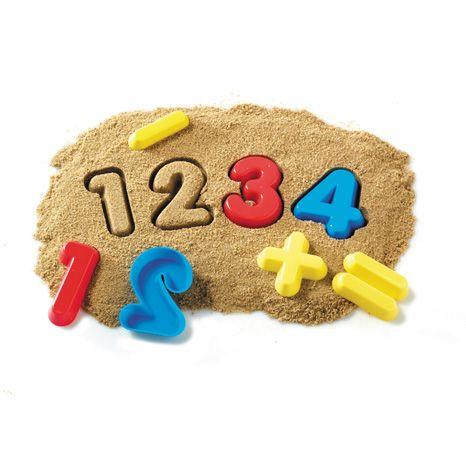 Forme pentru joaca in nisip - Cifre si operatii 0