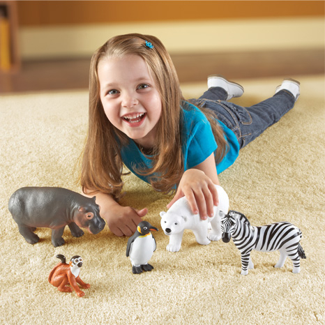 Animale de la Zoo - Set figurine mari 1