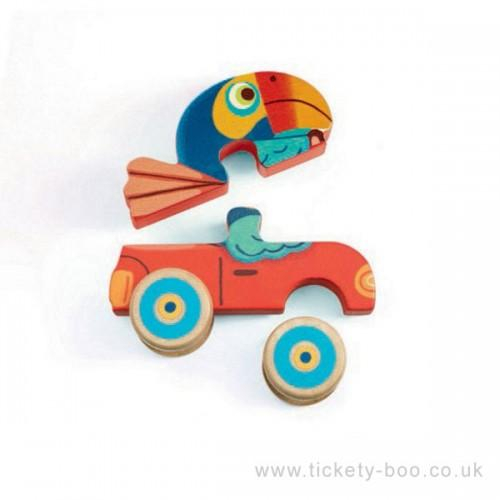Figurine Puzzle Pachy&Co 1