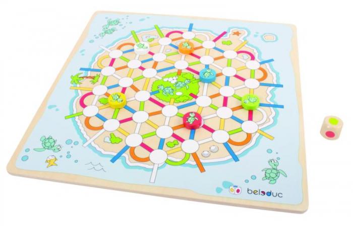 Set 2 jocuri - Nu te supara frate si Insula Testoaselor - marca Beleduc 1