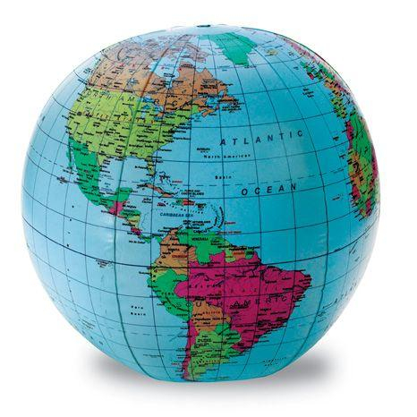 Globul pamantesc gonflabil 0