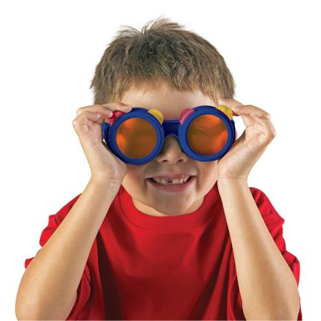 Ochelari cu lentile colorate 1