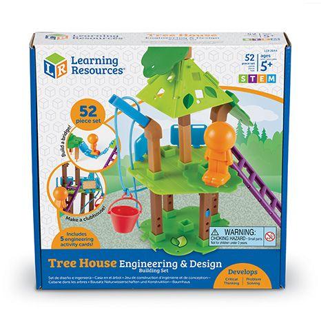 Inginerie si design casuta din copac - Set constructie STEM 1