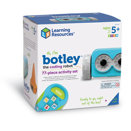 Robotul Botley-Set invatare programare pentru prescolari