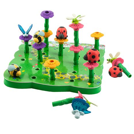 Gradina cu insecte - Set educativ de indemanare si vocabular 0