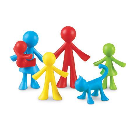 Set 24 de figurine - Familia mea 0