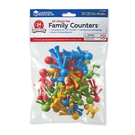 Set 24 de figurine - Familia mea 1