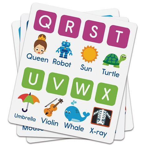 Alphabee - Set invatare litere si cifrele din mers 4