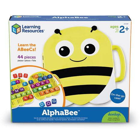 Alphabee - Set invatare litere si cifrele din mers 2