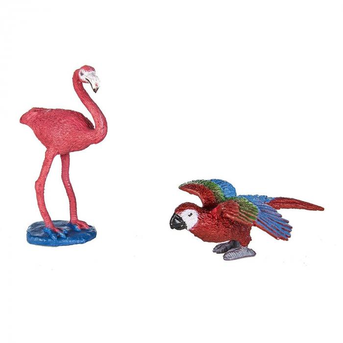 Pasari exotice - Safari Toob - Set 11 figurine 4