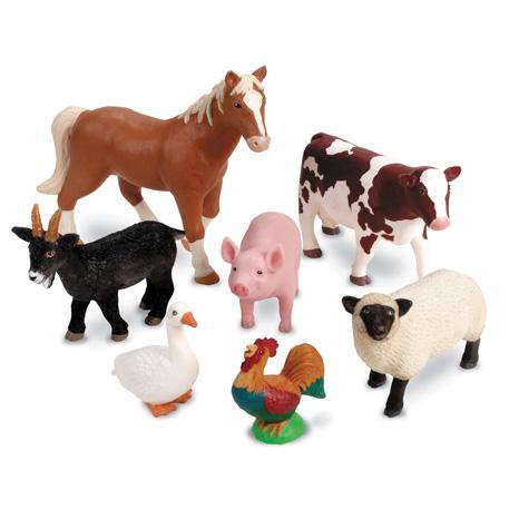 Animalele de la ferma - Set figurine mari +2 ani 0