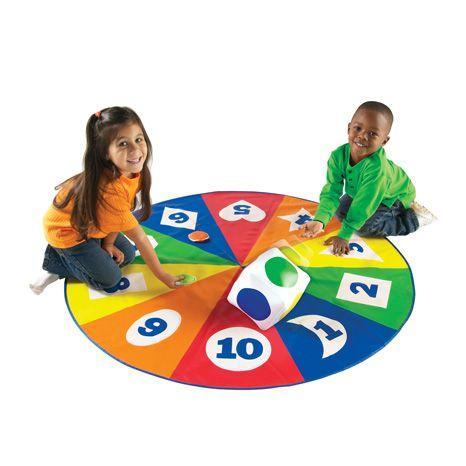 Saltea activitati - Circle time - Cifre forme si culori 0