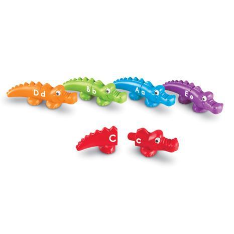 Aligatorii pereche - Set alfabet si culori 0